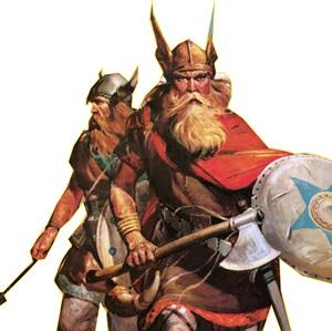 viking páncélok, fegyverek