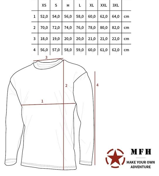 a3cb19cee9 US hosszúujjú póló, CZ tarn, 00113J - Férfias játékok webáruháza ...